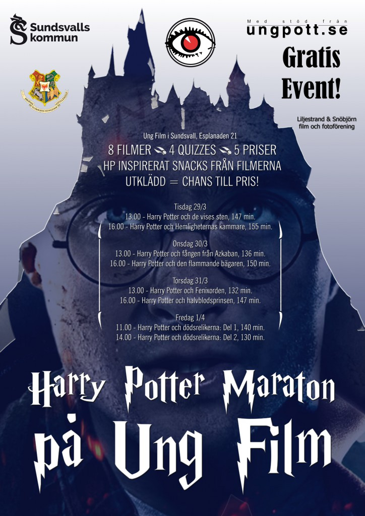 Harry potter event affisch